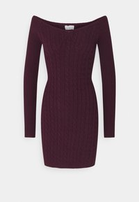 Glamorous Petite - LADIES DRESS  - Jumper dress - plum purple - 0