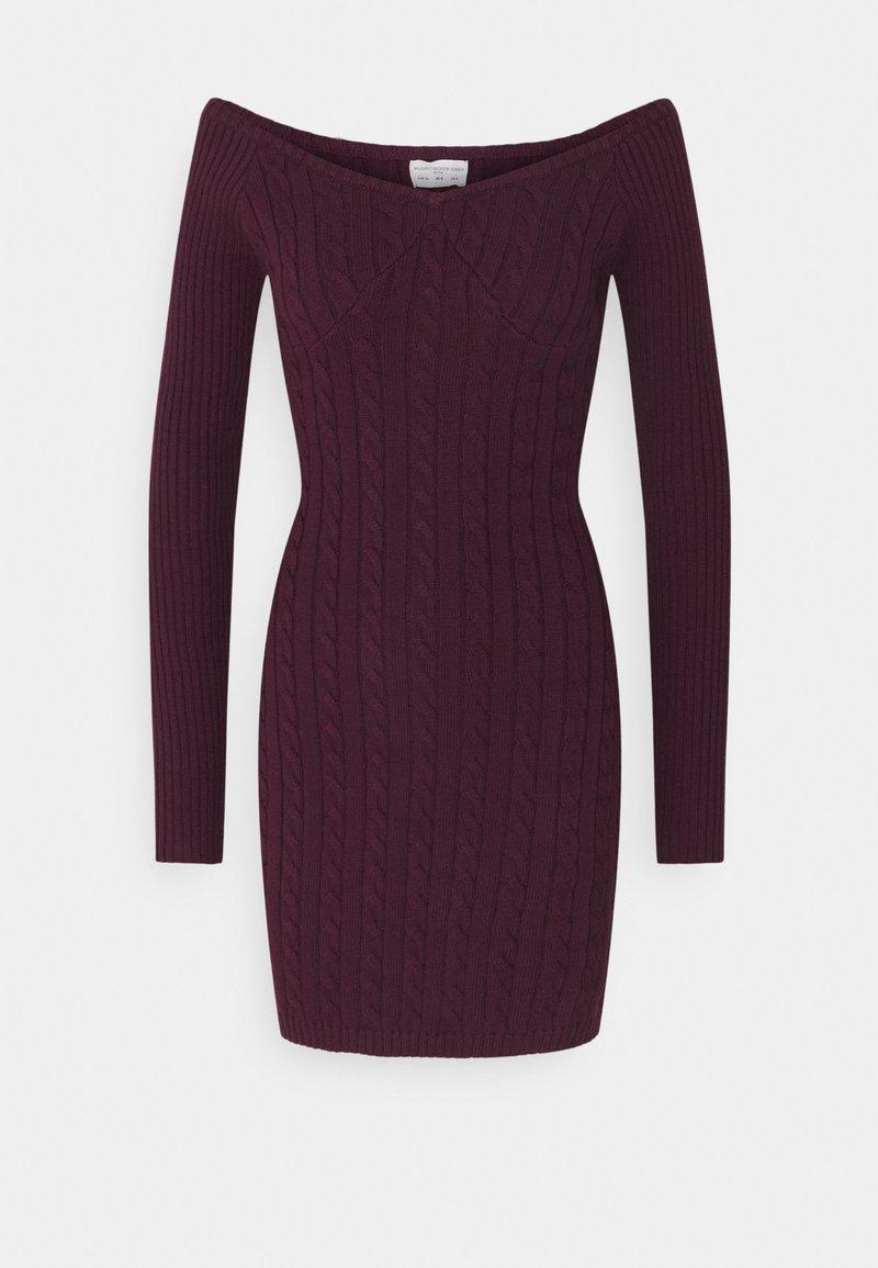 Glamorous Petite - LADIES DRESS  - Jumper dress - plum purple