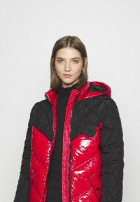 River Island - Winter coat - red/black - 4