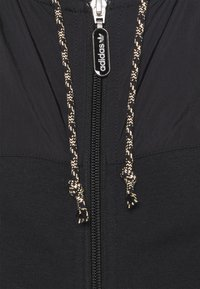 adidas Originals - ZIP HOODIE - Zip-up hoodie - black