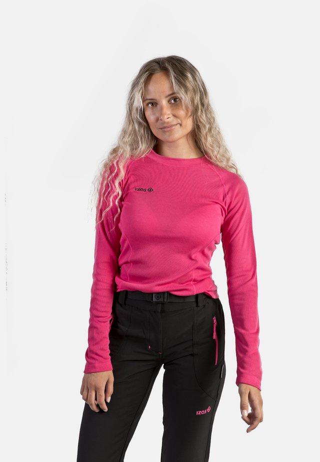 SAREK - Camiseta de deporte - fuxia