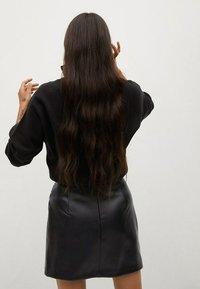 Mango - Wrap skirt - noir - 2