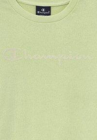 Champion - LEGACY AMERICAN CLASSICS CREWNECK - Mikina - mint - 3