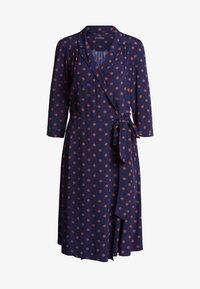 SET - Shirt dress - blue - 4