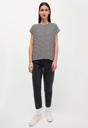 JAARIN - Print T-shirt - black