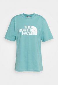 The North Face - SUMMER BOYFRIEND TEE - Print T-shirt - bristol blue - 5