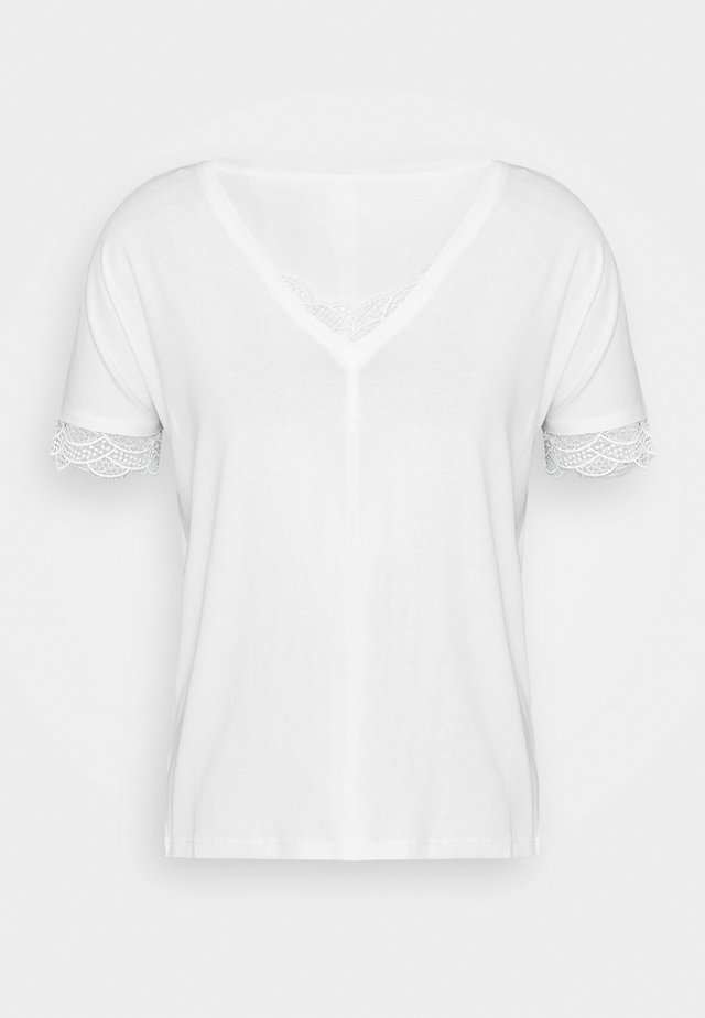 Camiseta básica - off-white