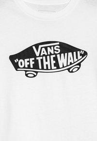 Vans - BOYS - Camiseta estampada - white/black - 3