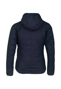 K-Way - THERMO PLUS. 2 DOUBLE - Down jacket - blue maritime-red claret - 3