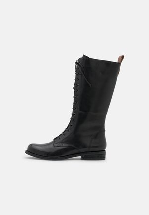 ALOPECURUS - Lace-up boots - ginger black