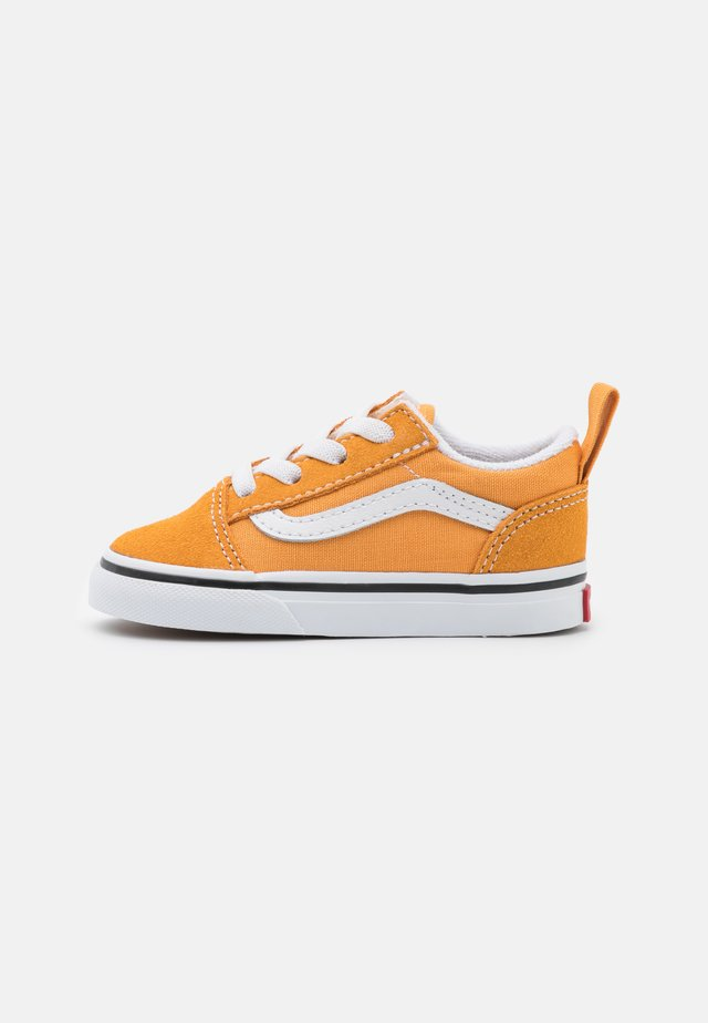 OLD SKOOL ELASTIC LACE UNISEX - Sneaker low - golden nugget/true white