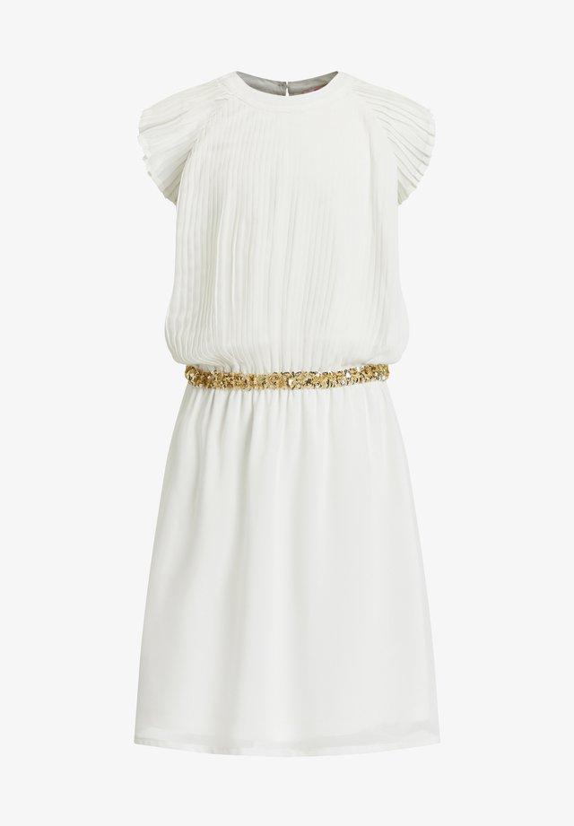 MET PAILLETTEN - Vestito estivo - white