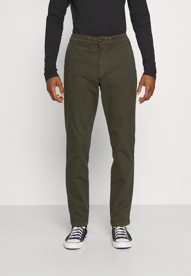 Selected Homme - Chino kalhoty - forest night