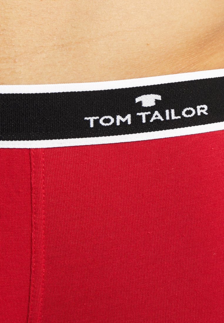 Tom Tailor 2 Pack - Underbukse Red/black/rød