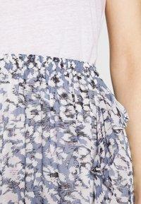 Second Female - CLOUDS SHORT SKIRT - Mini skirt - faded denim - 5