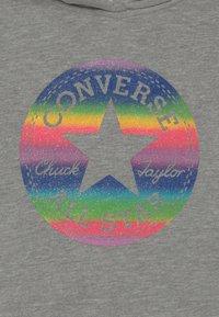 Converse - SLEEVE FOIL HOODY - Bluza z kapturem - grey heather - 2