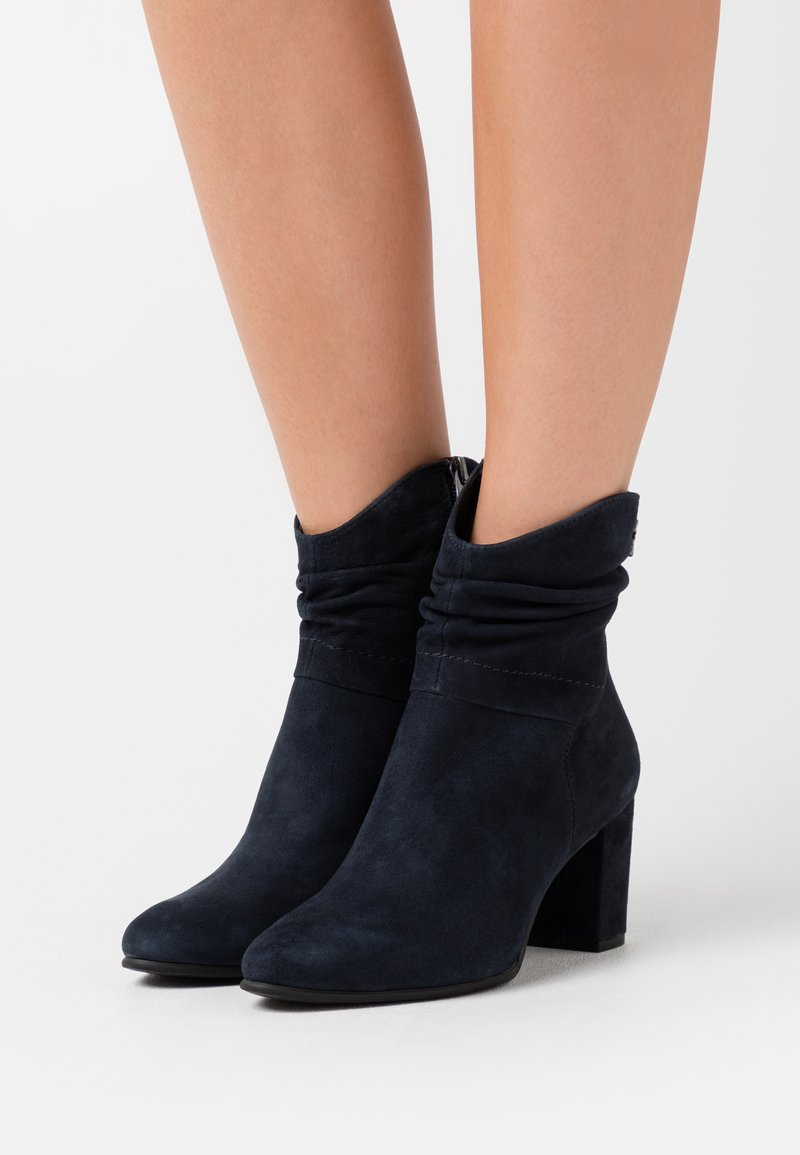Marco Tozzi by Guido Maria Kretschmer - Classic ankle boots - navy