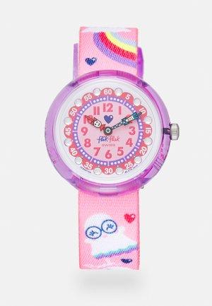 SPOOKY - Horloge - pink