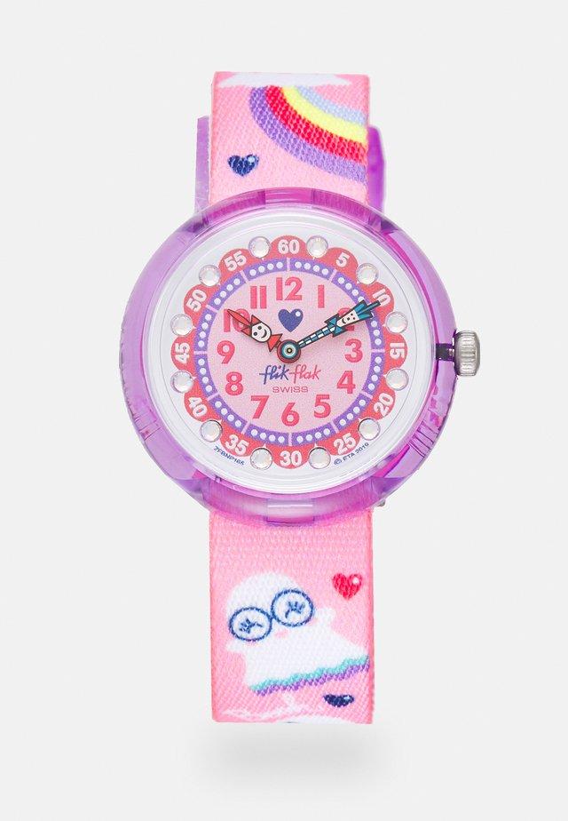 SPOOKY - Klocka - pink