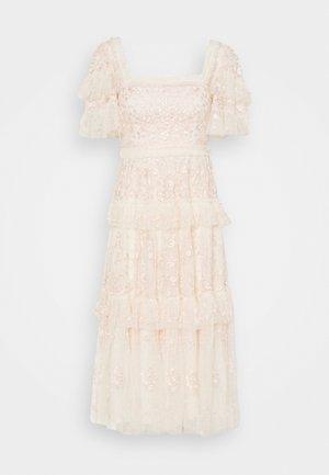 ARWEN MIDAXI DRESS - Juhlamekko - champagne/pink