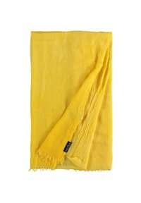Fraas - Scarf - yellow camel - 3