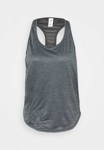 TECH VENT TANK - T-shirt sportiva - black