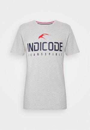 ECKRICH - T-shirt imprimé - grey