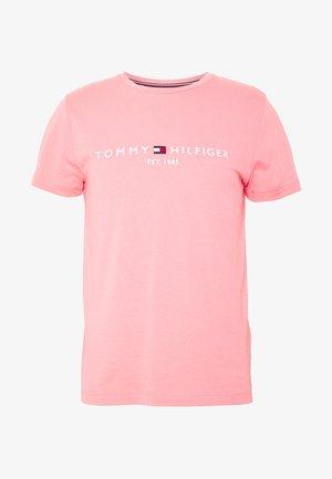 LOGO TEE - Triko spotiskem - pink