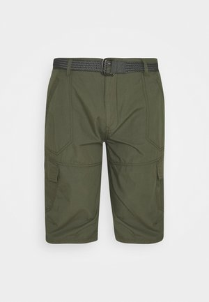 CARGO WITH BELT - Shorts - army