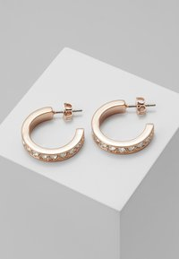 Ted Baker - SEANNIA HOOP EARRING - Earrings - rose gold-coloured - 0