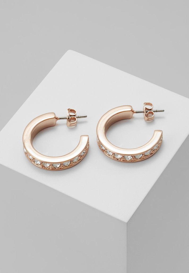 Ted Baker - SEANNIA HOOP EARRING - Earrings - rose gold-coloured