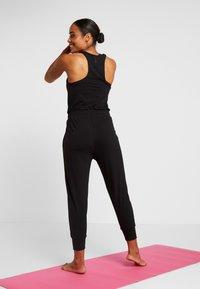 Nike Performance - Jumpsuit - black/dark smoke grey - 2