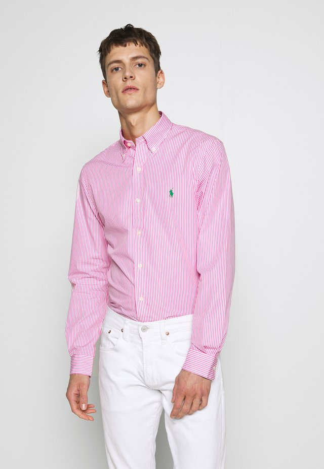 NATURAL - Camicia - pink/white
