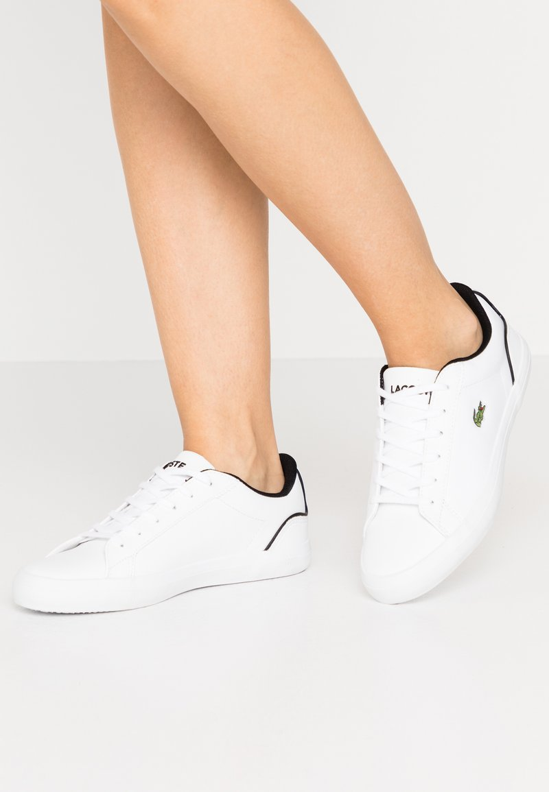 Lacoste - LEROND  - Baskets basses - white/black