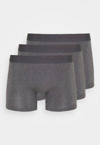 MEN PREMIUM BOXER BRIEF 3PACK - Pants - grey melange