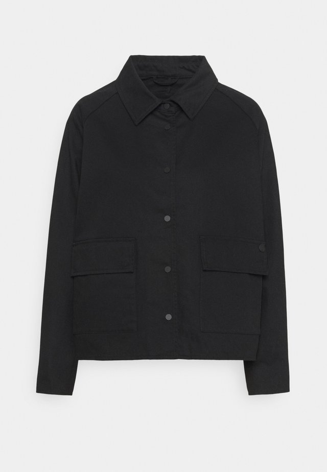 CHORE COAT - Lehká bunda - black