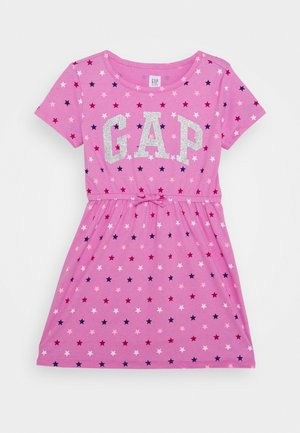 GIRL LOGO DRESS - Robe en jersey - multi coloured