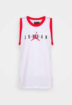 TANK - Top - white/university red/black