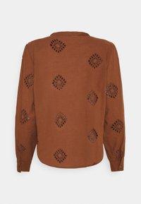 JDY - Button-down blouse - brownie - 1