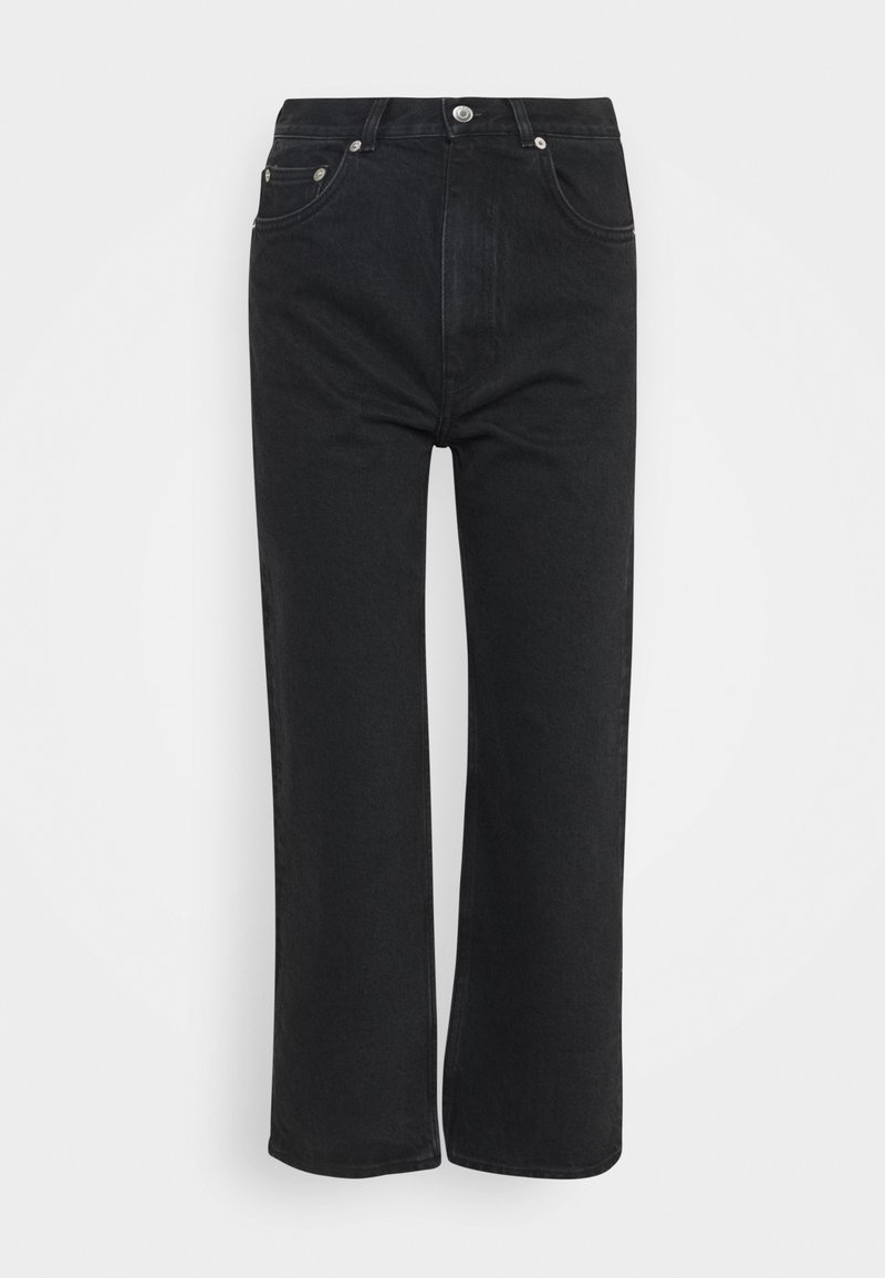 ARKET - PANTS - Straight leg jeans - washed black