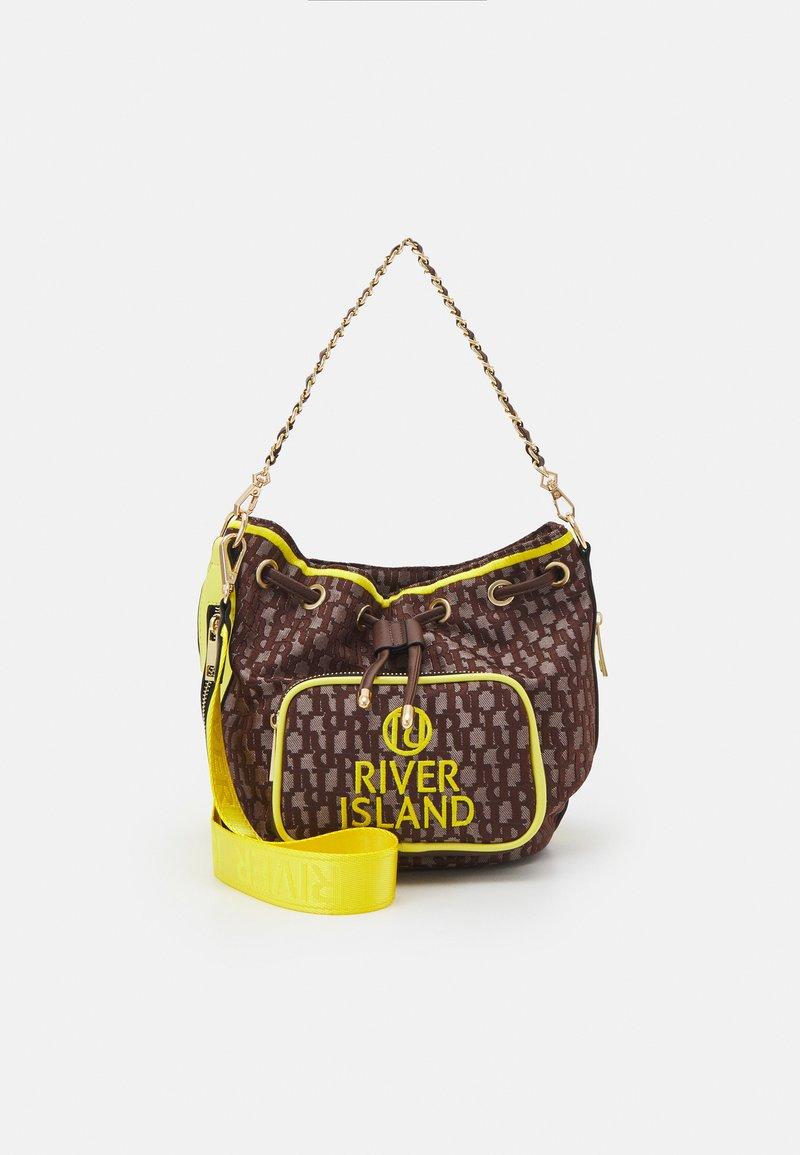 River Island - Across body bag - brown