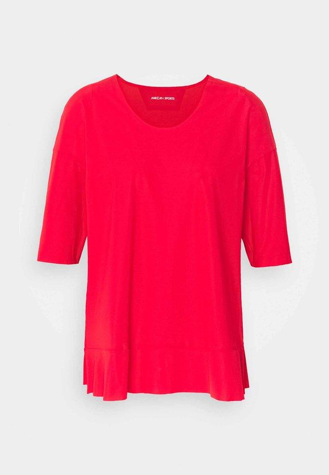 T-shirt basique - cranberry