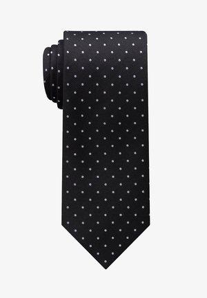 Tie - schwarz/grau