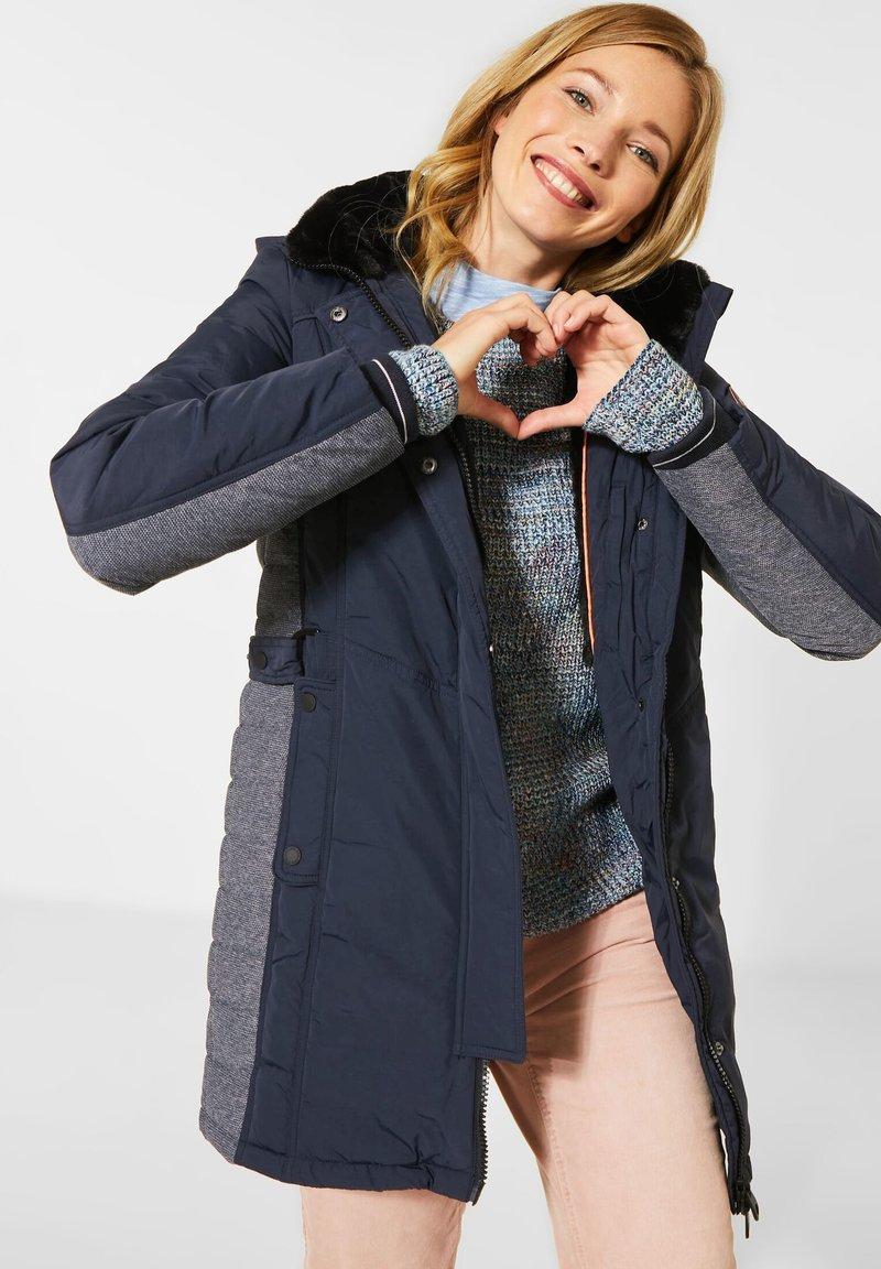Cecil - Winter coat - blau