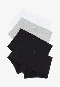 Tezenis - 4 PACK - Pants - nero/nero/grigio/bianco - 0