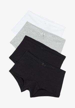 4 PACK - Pants - nero/nero/grigio/bianco