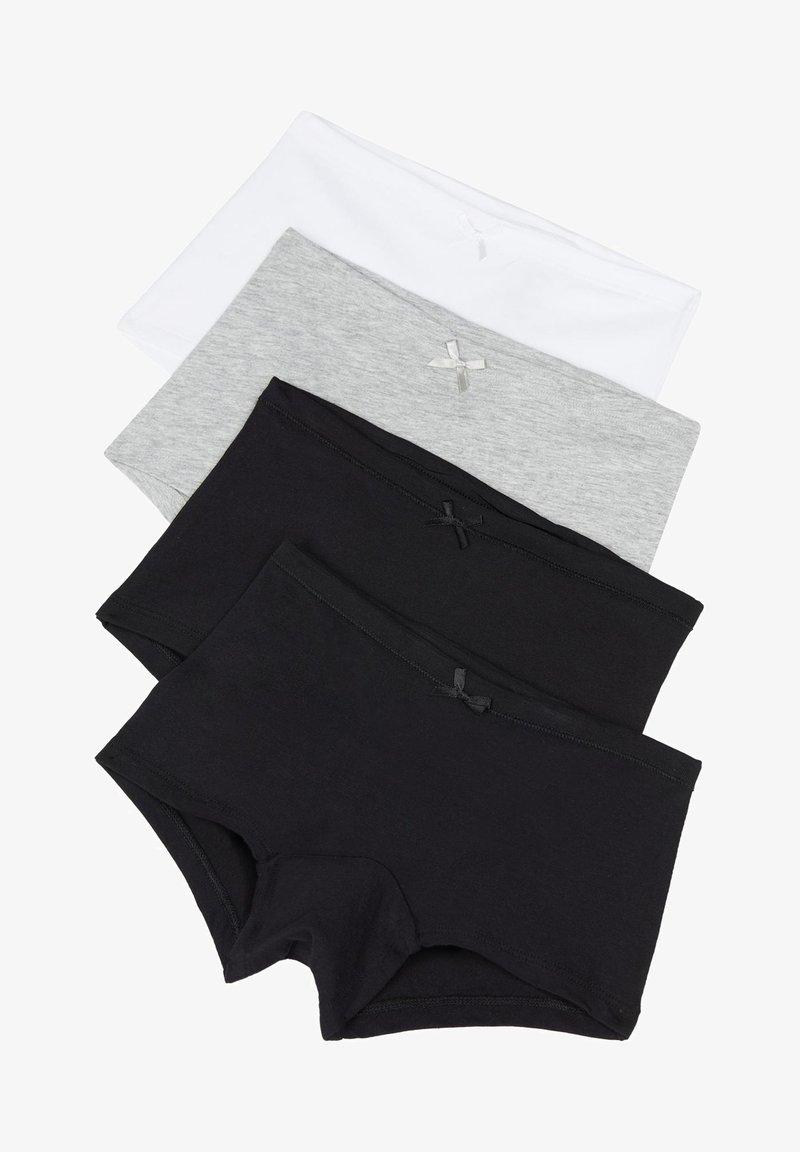 Tezenis - 4 PACK - Pants - nero/nero/grigio/bianco