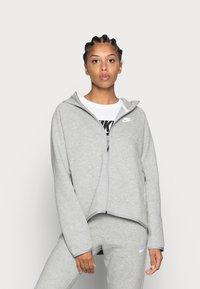 Nike Sportswear - Bluza rozpinana - grey heather/white - 0