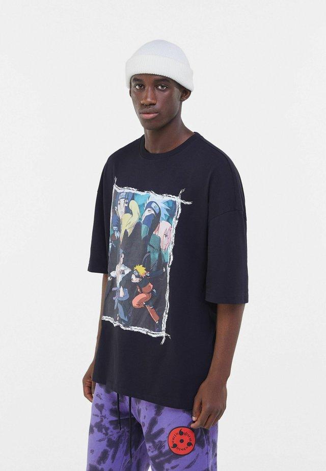 NARUTO  - T-shirt imprimé - black