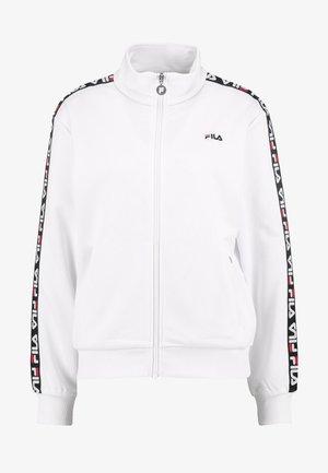 TALLI TRACK JACKET - Training jacket - bright white
